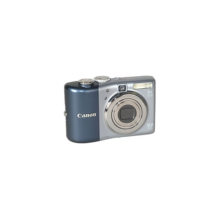 Canon Powershot A1000 IS Blue Digital Camera {10 M/P}