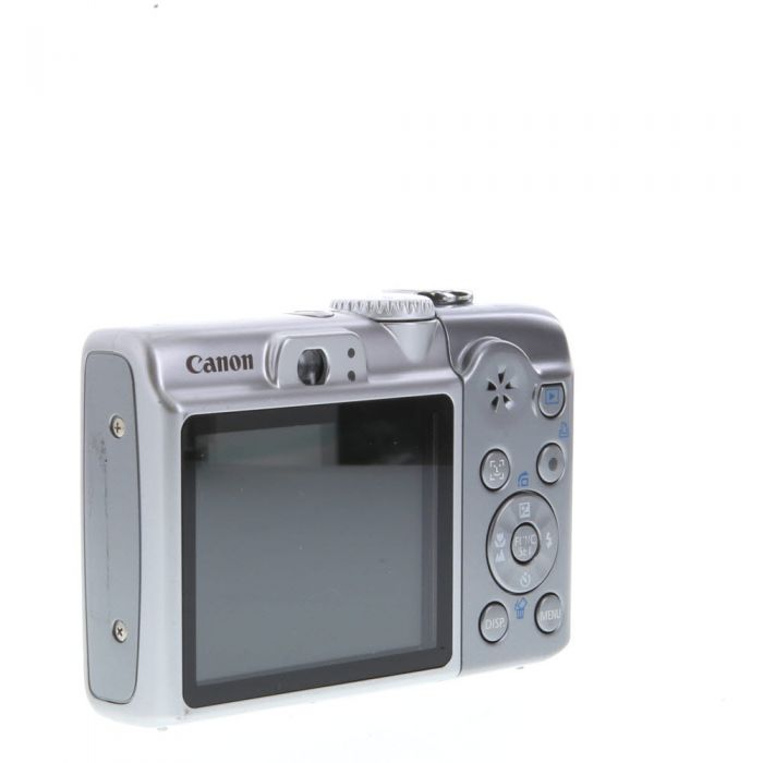 Canon Powershot A1100 IS Digital Camera, Silver {12.1 M/P}