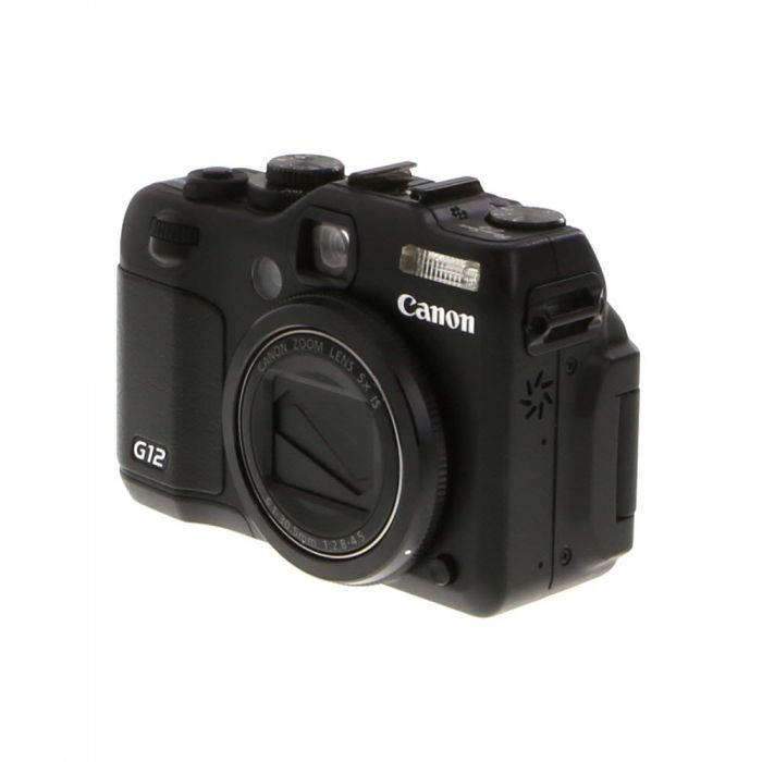 Canon Powershot G12 Digital Camera {10MP}