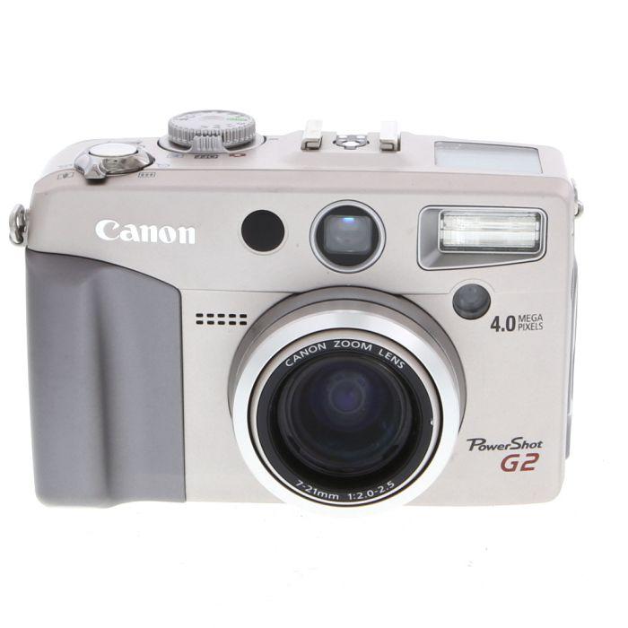 Canon Powershot G2 Silver Digital Camera {4.0MP}