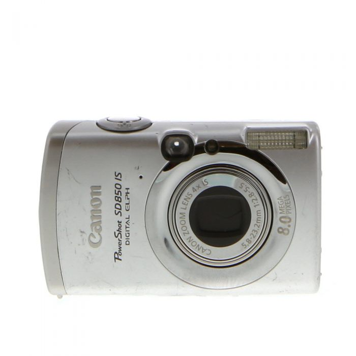Canon Powershot SD850 IS Silver Digital Camera {8 M/P}