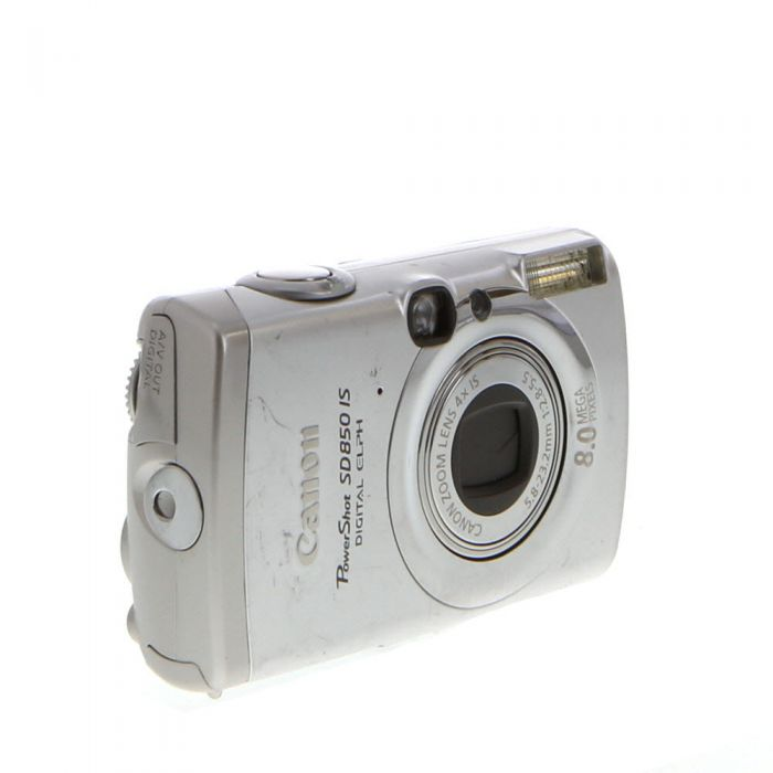 Canon Powershot SD850 IS Silver Digital Camera {8MP}
