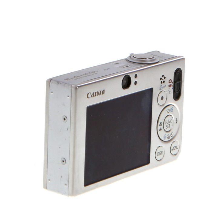 Canon Powershot SD1000 DIGITAL ELPH Silver Digital Camera {7.1MP}
