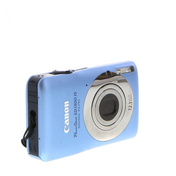 Canon Powershot SD1300 IS Blue Digital Camera {12.1 M/P}