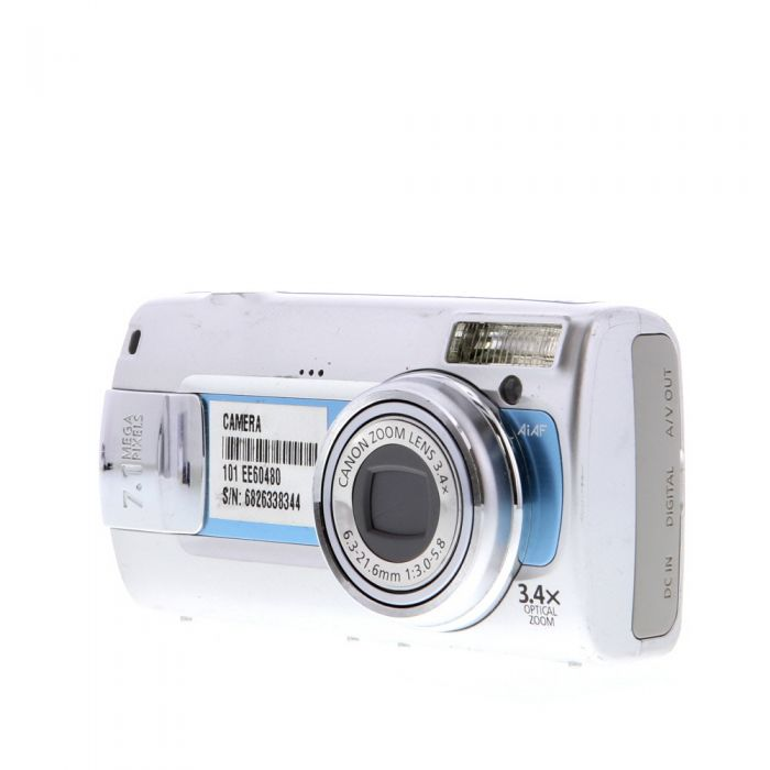 Canon Powershot A470 Blue Digital Camera {7.1MP}