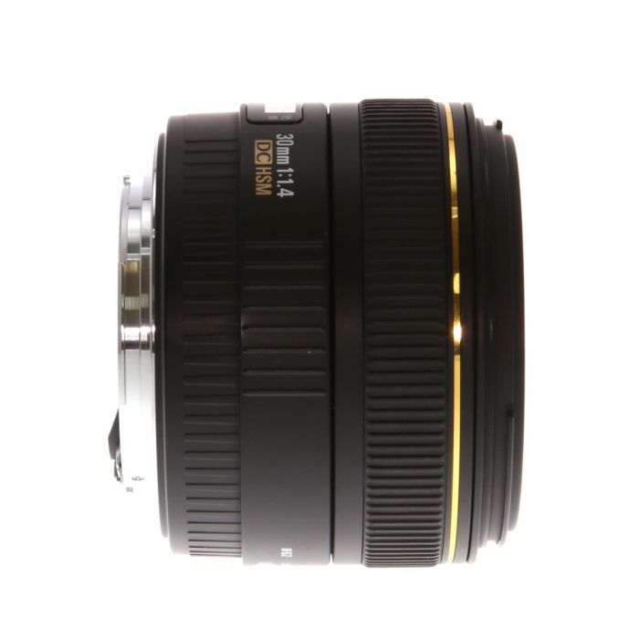 Sigma 30mm f/1.4 EX DC HSM EF-Mount Lens for Canon APS-C DSLR {62}