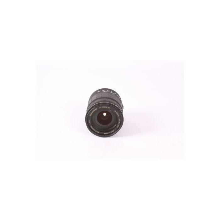Quantaray 18-200mm F/3.5-6.3 DIO EF Mount Lens For Canon APS-C Sensor DSLRS {62}