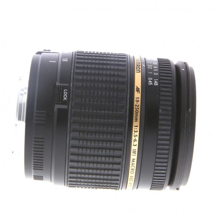 Tamron 18-250mm f/3.5-6.3 Aspherical DI II IF LD EF-Mount Lens for Canon APS-C DSLR {62}