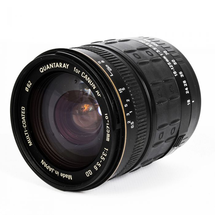 Quantaray 18-125mm F/3.5-5.6 QD EF Mount Lens For Canon APS-C Sensor DSLRS {62}