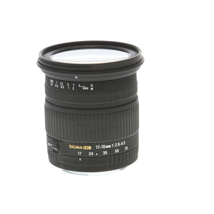 Sigma 17-70mm F/2.8-4.5 DC Macro EF Mount Lens For Canon APS-C Sensor DSLRS {72}