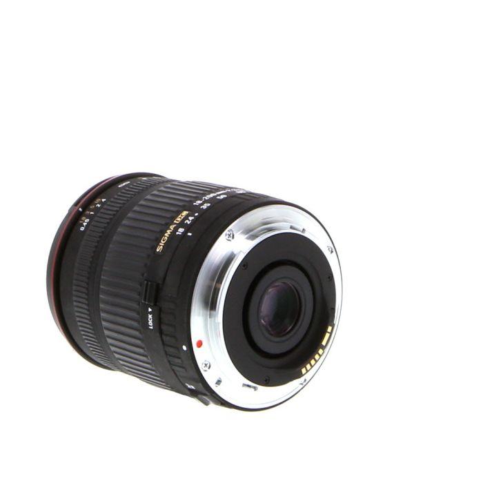 Sigma 18-200mm f/3.5-6.3 DC Macro EF-Mount Lens for Canon APS-C DSLR {62}