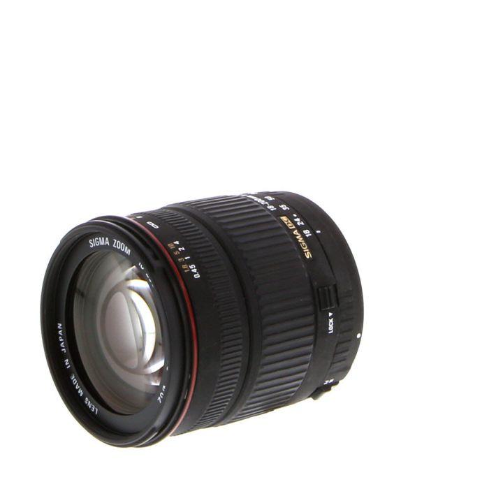Sigma 18-200mm F/3.5-6.3 DC Macro EF Mount Lens For Canon APS-C Sensor DSLRS {62}