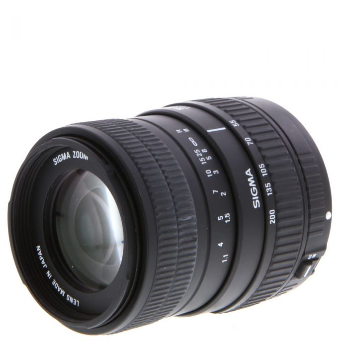 Sigma 55-200mm f/4-5.6 DC EF-Mount Lens for Canon APS-C DSLR {55}