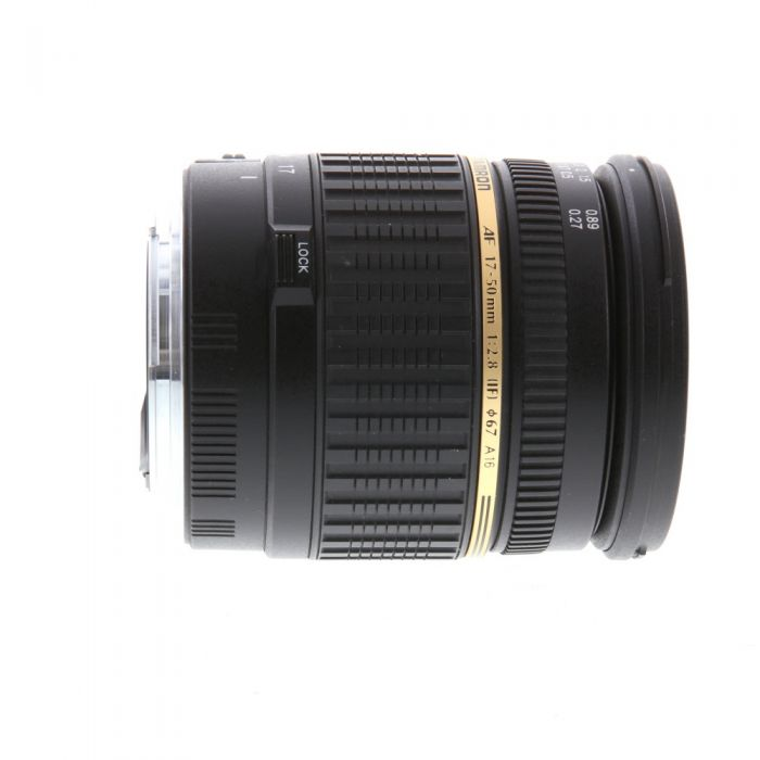 Tamron SP 17-50mm F/2.8 Aspherical DI II IF LD XR EF-Mount Lens for Canon APS-C DSLR {67} A16