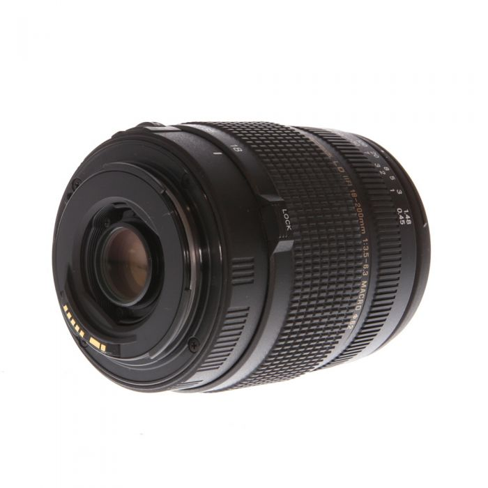 Promaster 18-200mm F/3.5-6.3 XR EDO Aspherical Macro LD IF EF Mount Lens For Canon APS-C Sensor DSLRS {62}