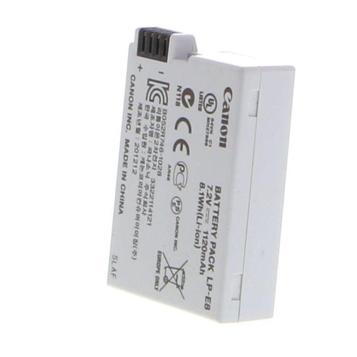 Canon Battery LP-E8 (Rebel T2I, T3I, T4I, T5I)