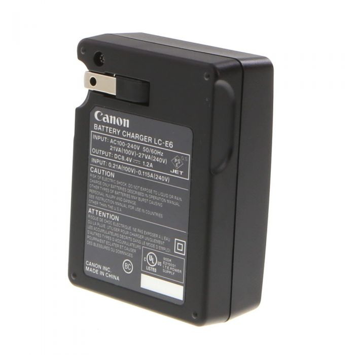 Canon Battery Charger LC-E6 (5D Mark II/7D)