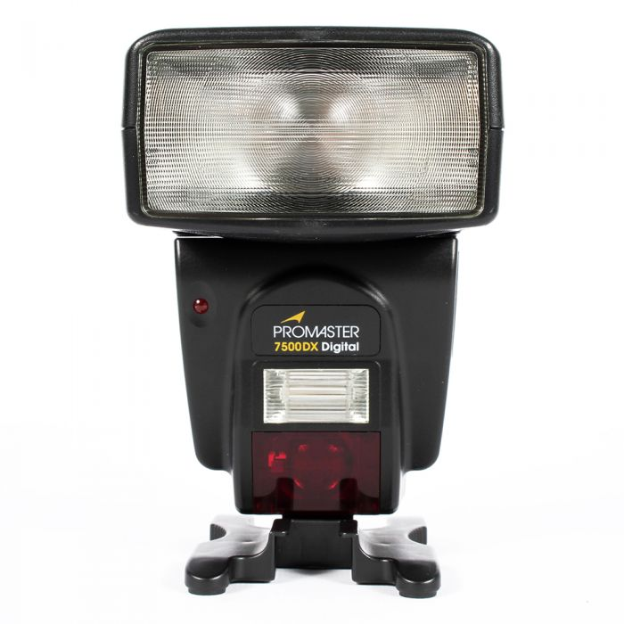 Promaster 7500DX Flash For Minolta Digital [GN138] {Bounce, Swivel, Zoom}