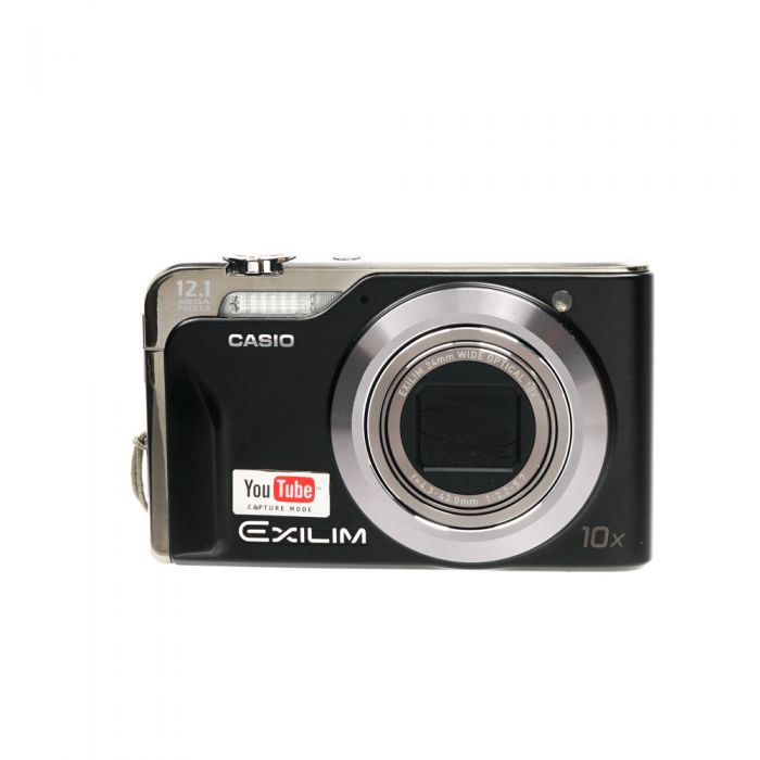 Casio Exilim EX-H10 Black Digital Camera {12.1 M/P}