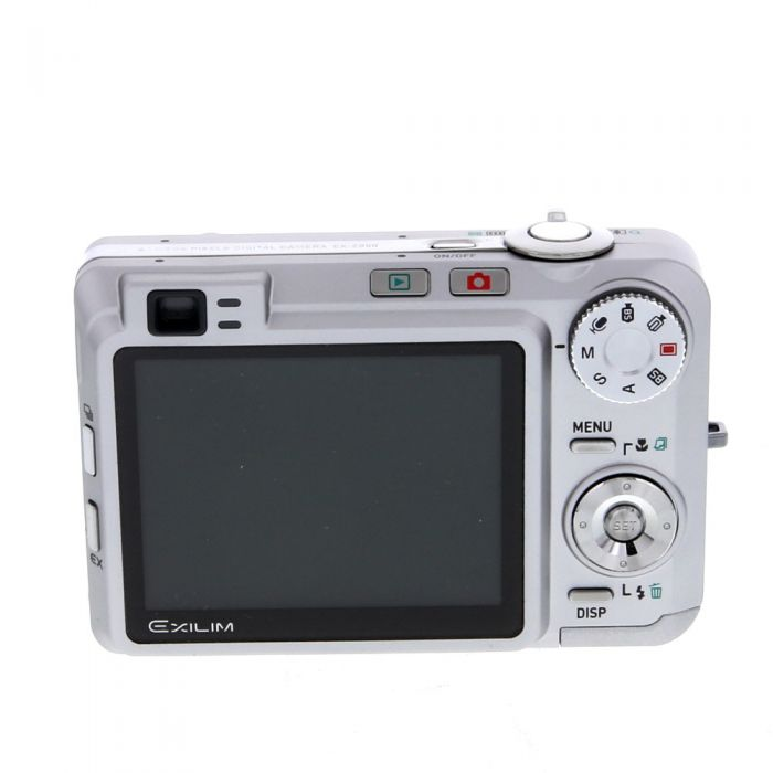 Casio Exilim EX-Z850 Digital Camera, Silver {8MP}