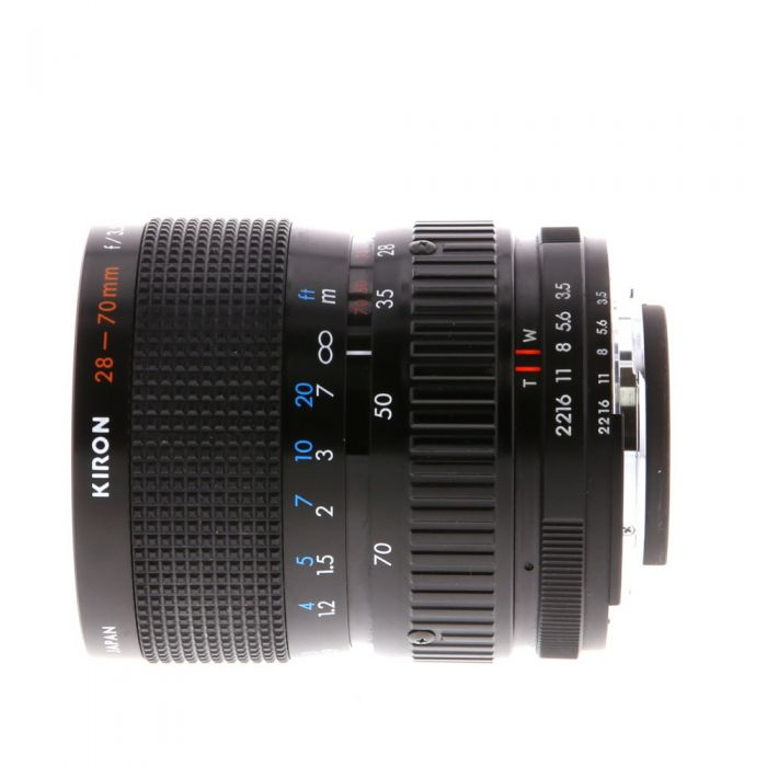 Kiron 28-70mm F/3.5-4.5 Macro AIS 2-Touch Manual Focus Lens For Nikon {62}