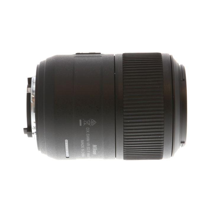 Nikon AF-S DX Nikkor 85mm f/3.5 G Micro ED VR Autofocus Lens for APS-C Sensor DSLR, Black {52}