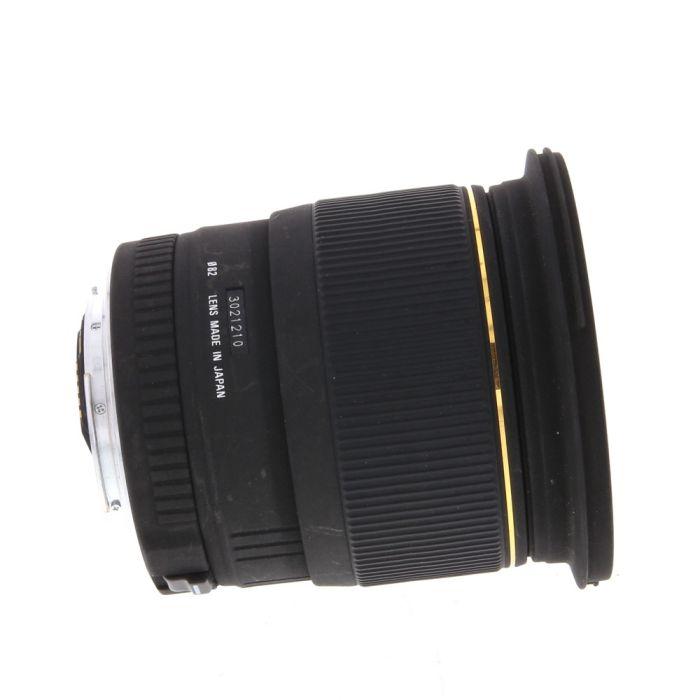 Sigma 20mm f/1.8 EX DG Lens for Canon EF-Mount {82}