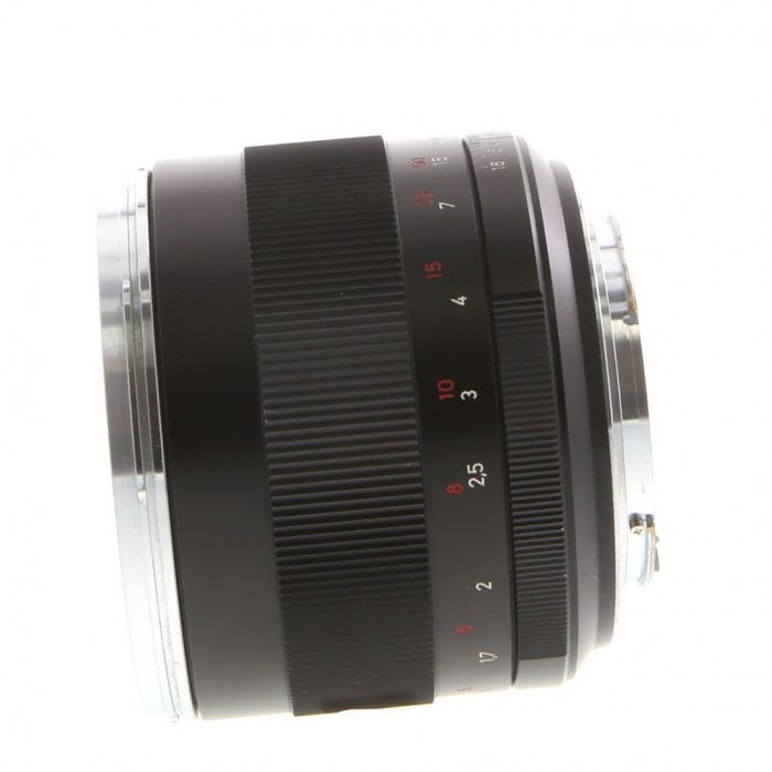 Zeiss 85mm F/1.4 Planar ZE T* (Manual Focus) Lens For Canon EF Mount {72}