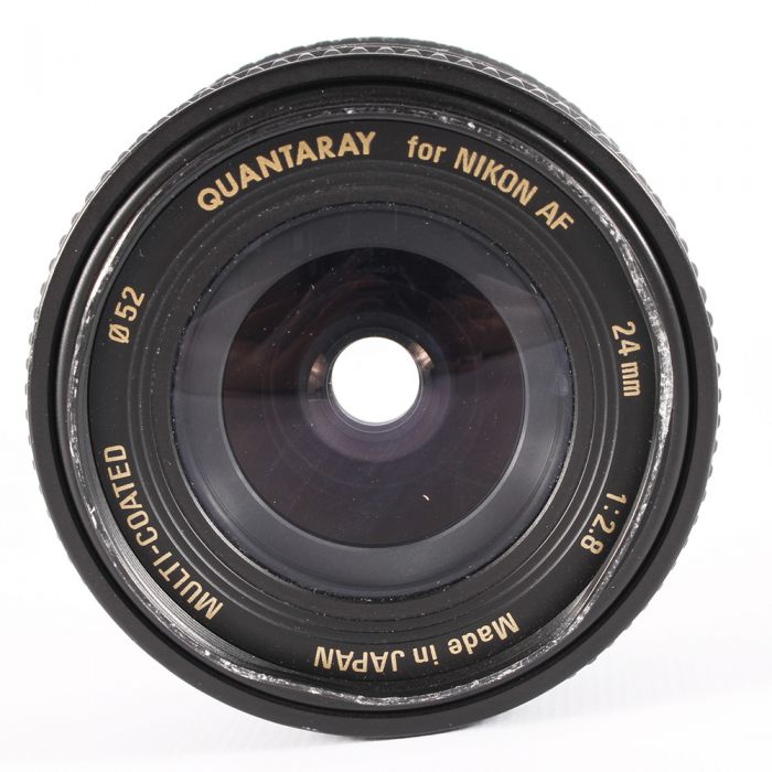Quantaray 24mm F/2.8 Macro Autofocus Lens For Nikon {52}