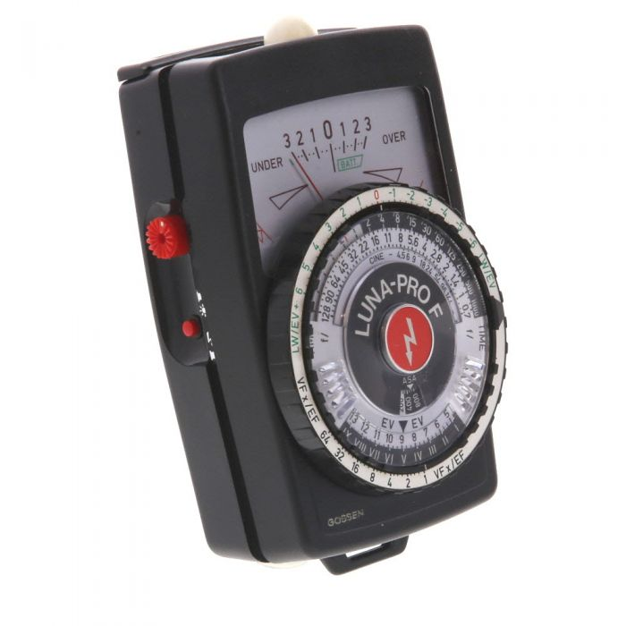 Gossen Luna-Pro F (Ambient/Flash) Light Meter