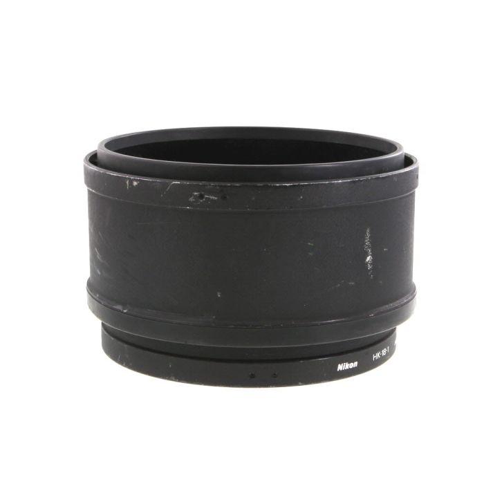 Nikon HK-18-1 & 2 Lens Hoods, for 600mm f/4 D AF-I