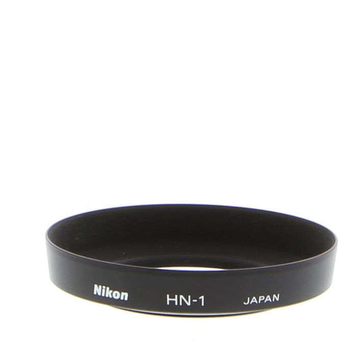 100/% Original Nikon HK-2 Metal Slip On Lens Hood RRP £ 44.99 para 24MM F2