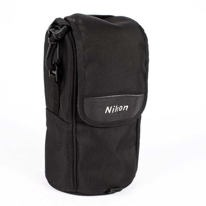 Nikon CL-M1 Nylon Soft Lens Case, Black (for 80-400mm f/4.5-5.6 D ED VR)