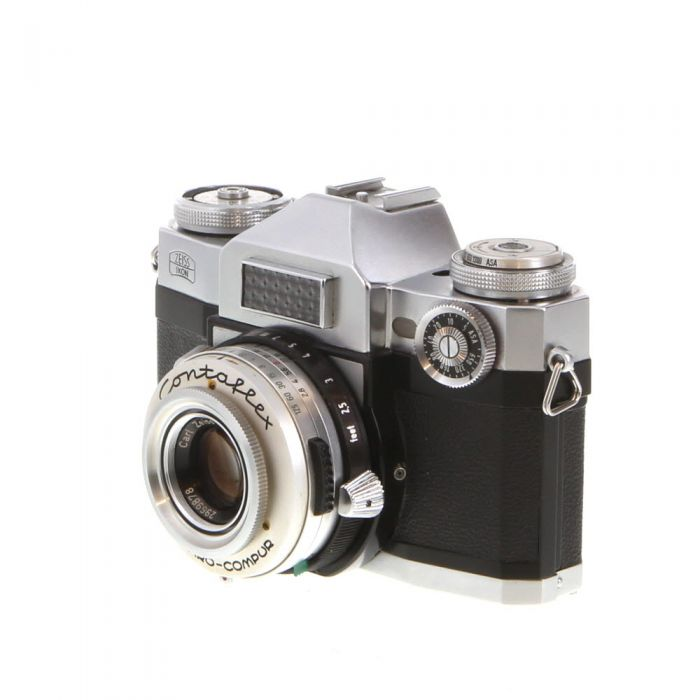 Zeiss Ikon Contaflex Super (10.1271) Camera With 50mm f/2.8 Tessar Lens