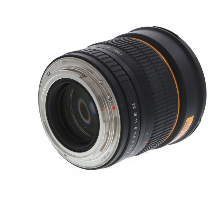 Rokinon 85mm f/1.4 AS IF UMC Manual Lens for Canon EF-Mount {72}