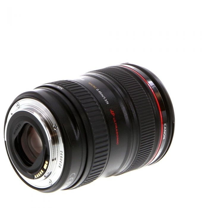 Canon 24-105mm f/4 L IS USM Macro EF-Mount Lens {77}