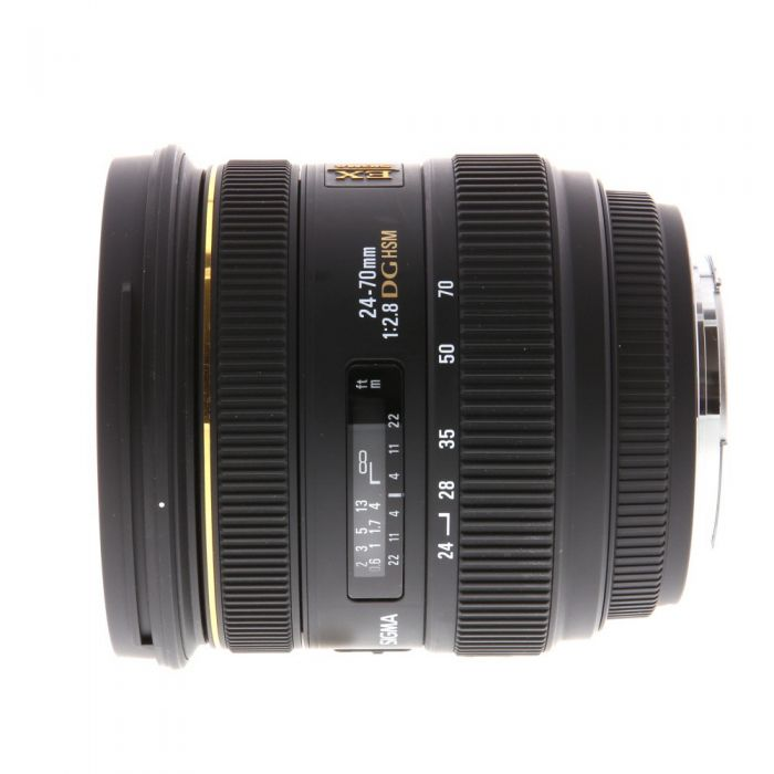Sigma 24-70mm F/2.8 EX DG HSM IF Lens For Canon EF Mount {82}