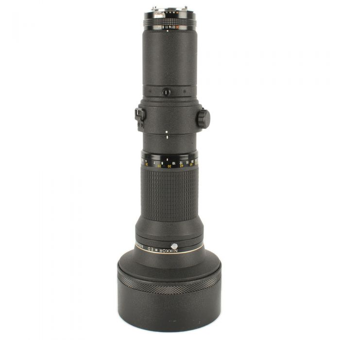 Nikon Nikkor 600mm f/5.6 ED IF AIS Manual Focus Lens with Built-In Hood {Drop-In Gel}