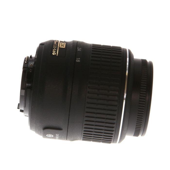 Nikon AF-S DX Nikkor 18-55mm f/3.5-5.6 G VR Autofocus Lens for APS-C Sensor DSLR, Black {52}