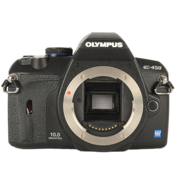 Olympus E-450 Four Thirds DSLR Camera Body {10MP}