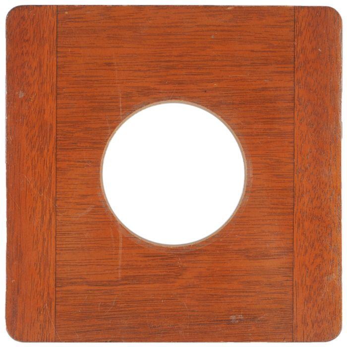 Deardorff 8X10 65 Hole, Round Corners Lens Board