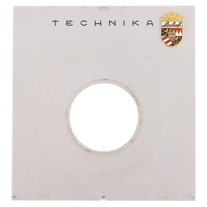 Linhof Tech III 4X5 35 Hole Chrome Lens Board