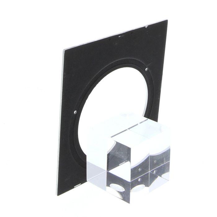 Linhof Tech III 4X5 64 Hole Chrome/MT Holes Lens Board