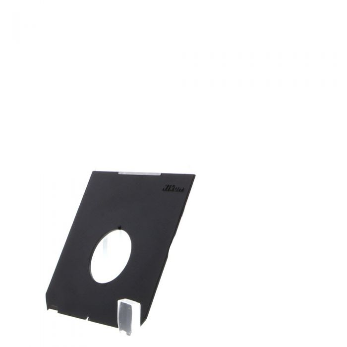 Nikon 4X5 35mm Hole Lens Board, Black (Linhof Tech IV/V/M)