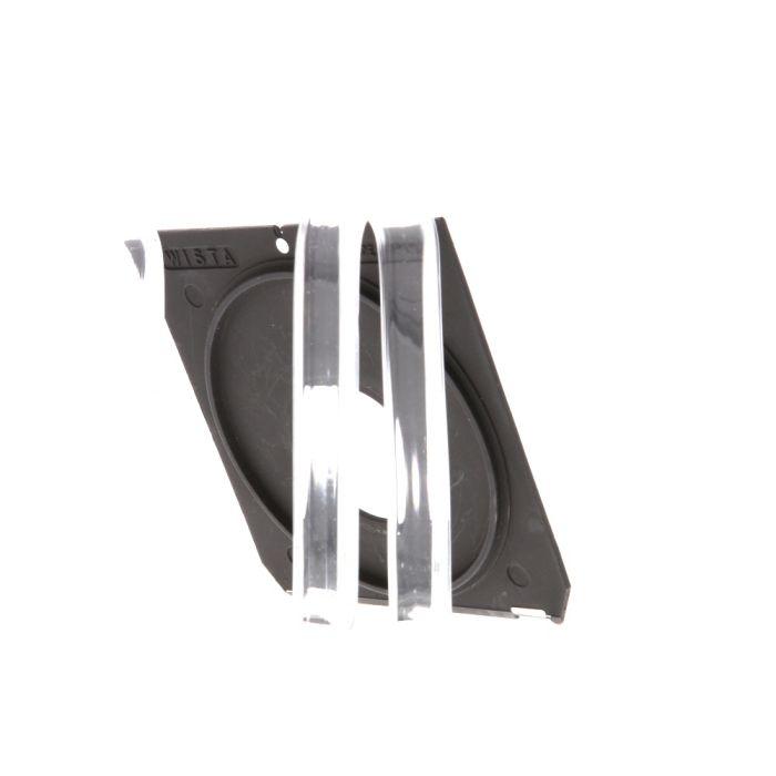Wista 4X5 35mm Hole Lens Board, Black (Linhof Tech IV/V/M)