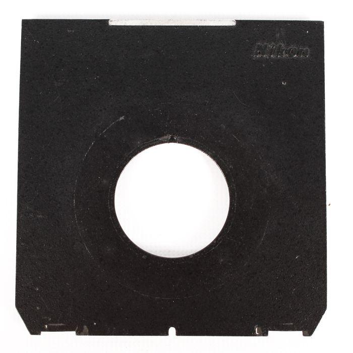 Nikon 4X5 36mm Hole Lens Board, Black (Linhof Tech IV/V/M)