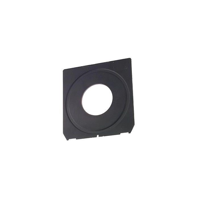 Linhof Tech IV/V/M 4X5 42mm Hole Black Lens Board