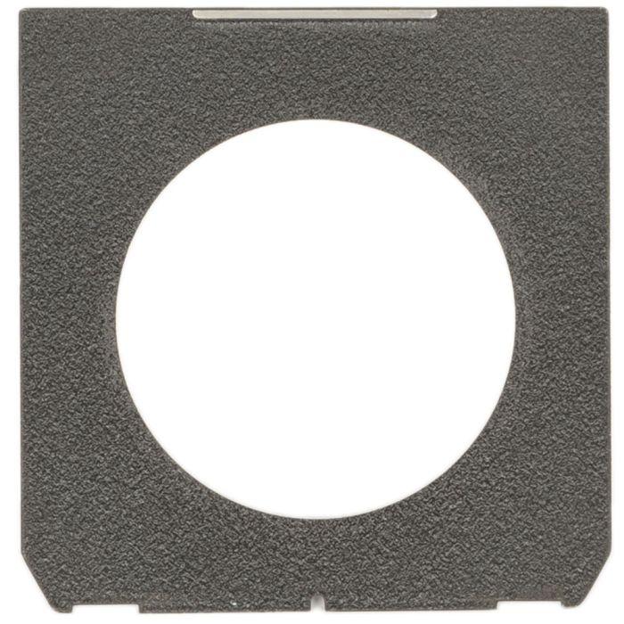 Nikon 4X5 65mm Hole Lens Board, Black (Linhof Tech IV/V/M)