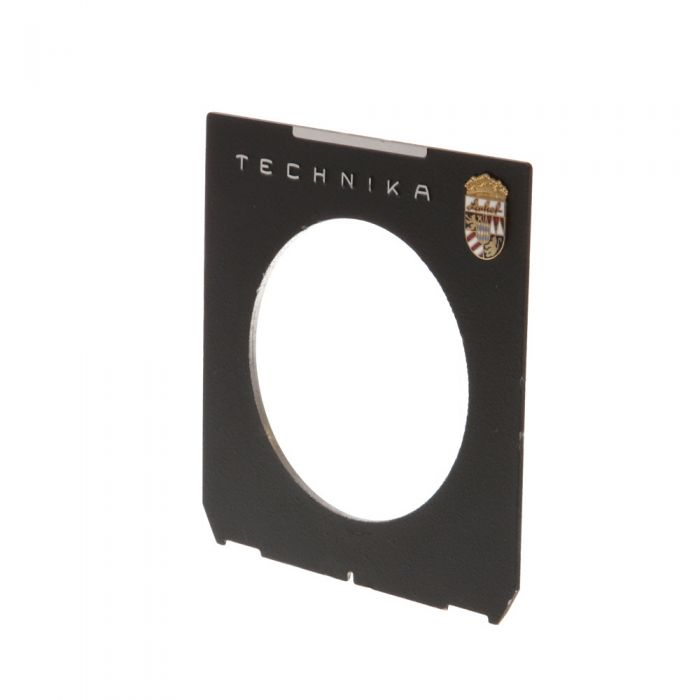 Linhof Tech IV/V/M 4X5 66mm Hole Black Lens Board