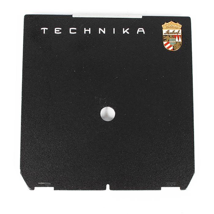Linhof Tech IV/V/M 4X5 Pilot Hole Black Lens Board